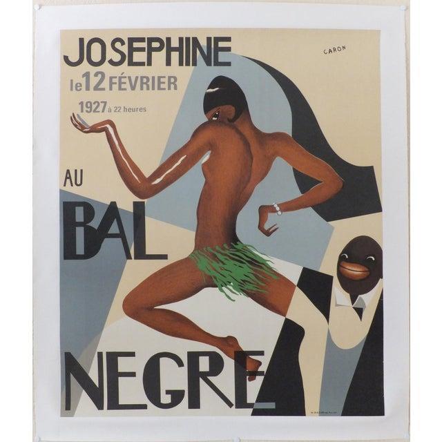 Cubism Vintage Josephine Au Bal Negre Poster For Sale - Image 3 of 3