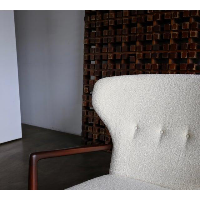 Ib Kofod-Larsen Wingback Lounge for Selig, Circa 1965 For Sale - Image 10 of 13