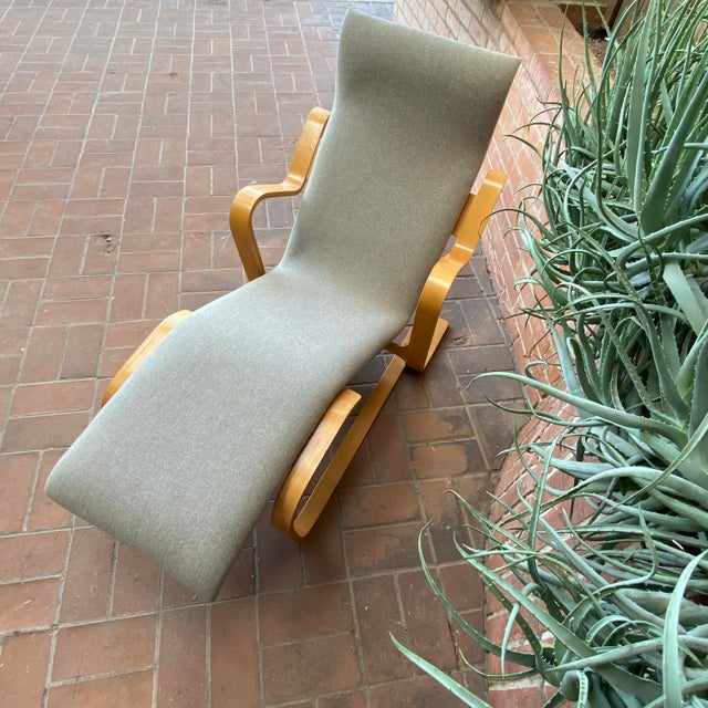 Marcel Breuer 1980s Marcel Breuer Chaise Lounge For Sale - Image 4 of 13