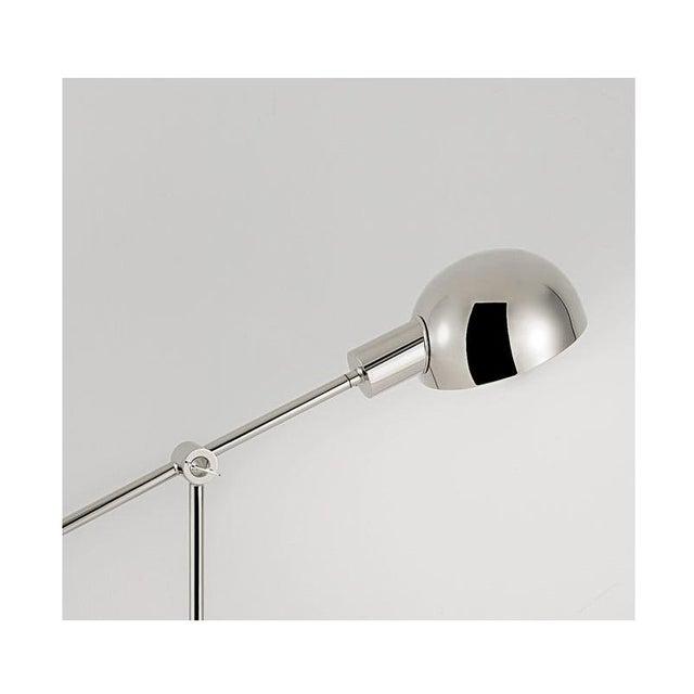 Mid-Century Modern Polished Nickel Adjustable Desk Light For Sale - Image 3 of 6