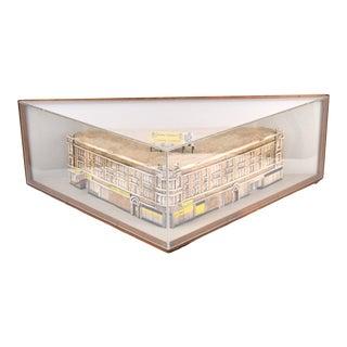Contemporary Ceramic Architectural Model For Sale