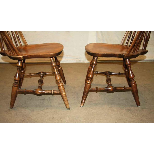 Antique Windsor Wooden Chair For Sale - Image 6 of 7