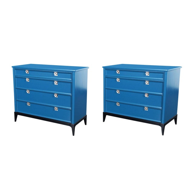 Vintage Lacquered Chest of Drawers - Image 1 of 8