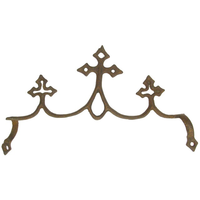 French Fleur de Lys Iron Elements - Set of 3 - Image 4 of 4