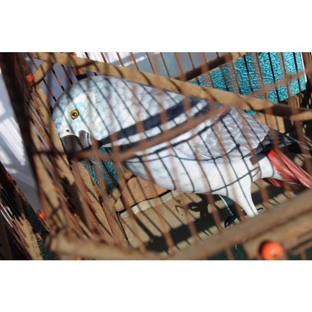 19th Century English Victorian Bird Cage For Sale In San Diego - Image 6 of 9