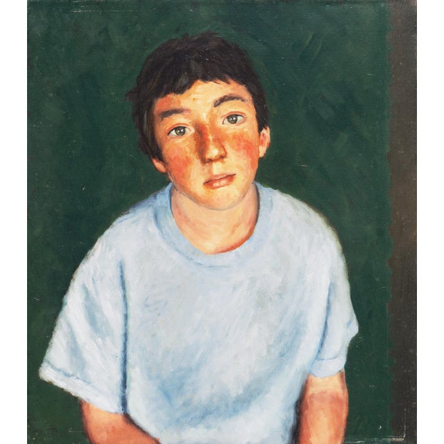 Green 'Contemplative', 1990s, American School For Sale - Image 8 of 9