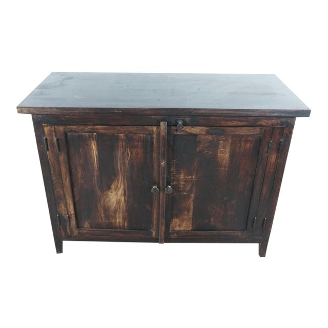 Shabby Chic Wooden Storage Cabinet For Sale