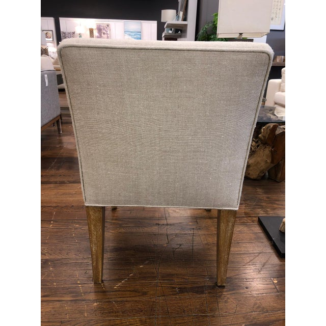 Transitional Modern Cameron Arm Chair For Sale - Image 3 of 4