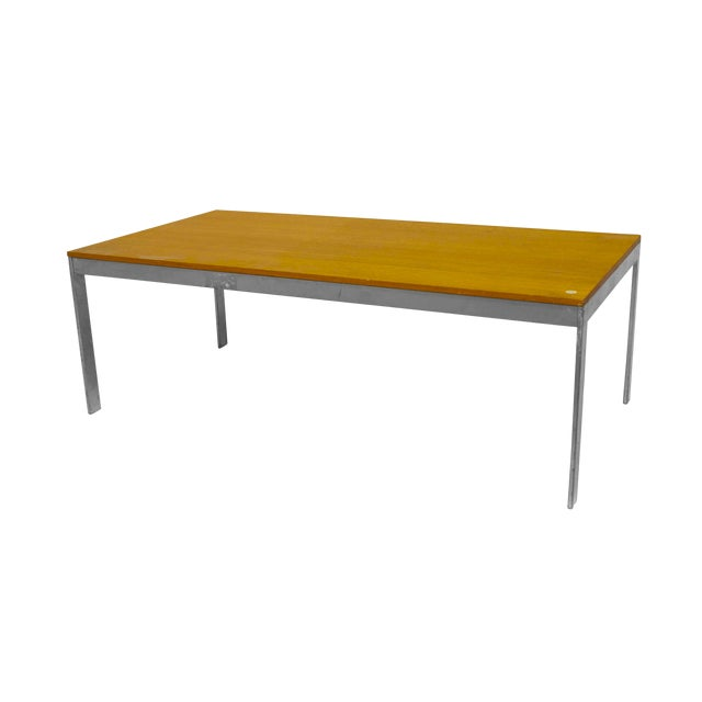 American Postwar Design 1950s Low Coffee Table For Sale