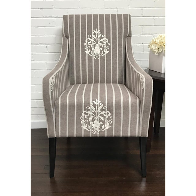 Rustic RJones Grace Lounge Chair For Sale - Image 3 of 8