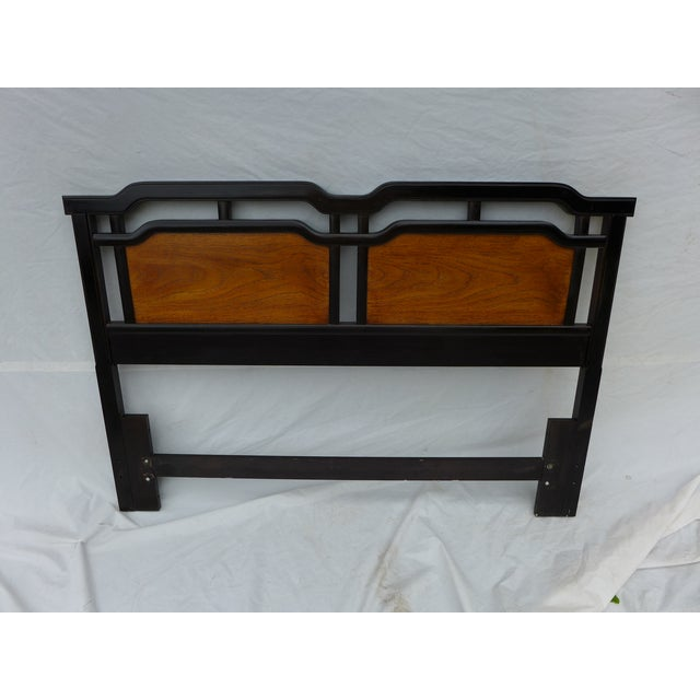 Thomasville Asian Inspired Queen Size Headboard - Image 7 of 7