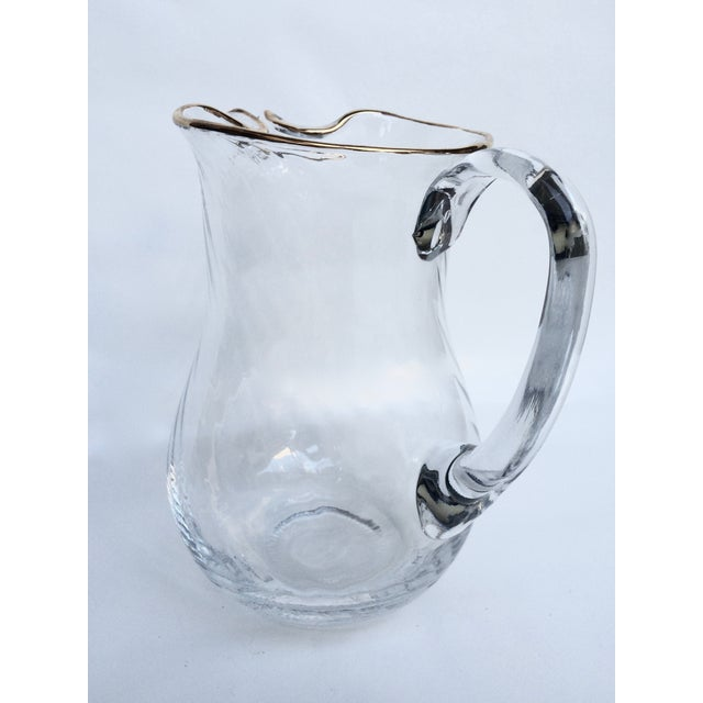 Vintage Colony Optic Pitcher - Image 2 of 4