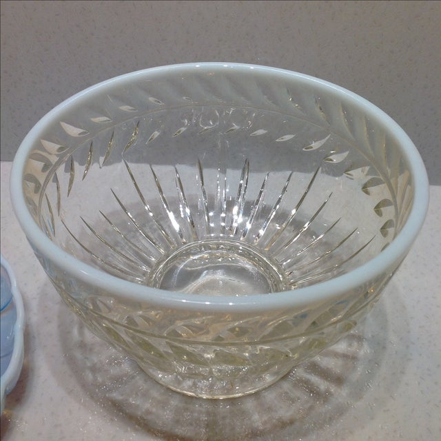 Fenton French Opalescent Glass Bowls - Set of 3 - Image 7 of 7