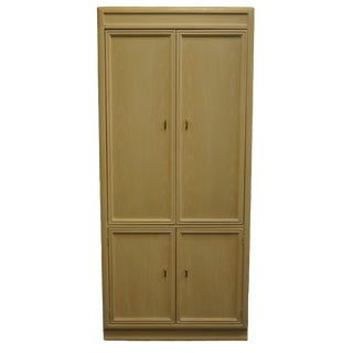 Thomasville Furniture Scenario Collection Contemporary Armoire For Sale