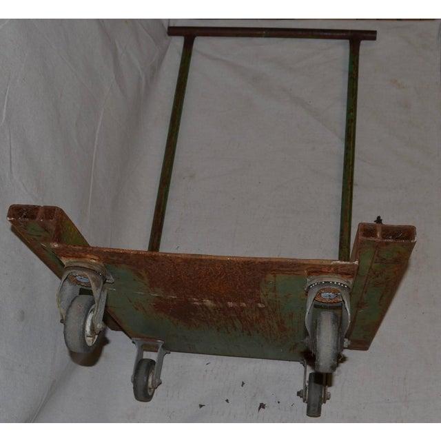 Industrial Fiskars Factory Cart - Image 7 of 8
