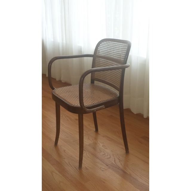 Vintage Stendig Thonet Bentwood Cane Chairs - Set of 4 - Image 4 of 11