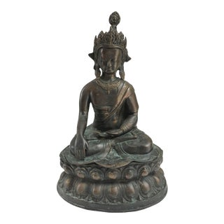 Monumental Bronze Buddha For Sale