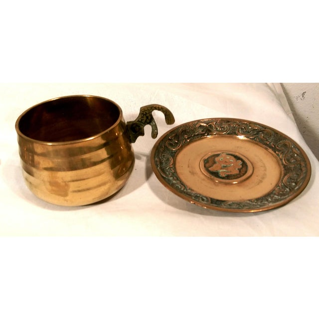 Brass Sea Tail Tea Set- Service for 6 - Image 7 of 9