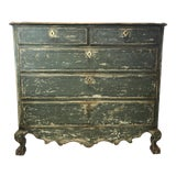 Image of French 18th-c. Commode w/ Original Paint For Sale