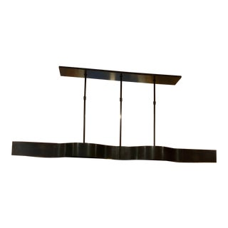 Visual Comfort Modern Linear Chandelier For Sale