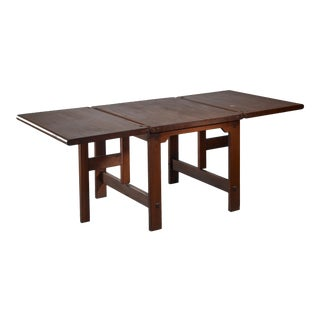 Drop-Leaf Dining Table, Dutch Design For Sale