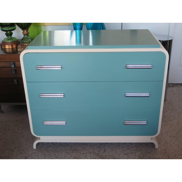 1930s Modern Donald Deskey for Valentine Seaver Co Chest For Sale - Image 10 of 11
