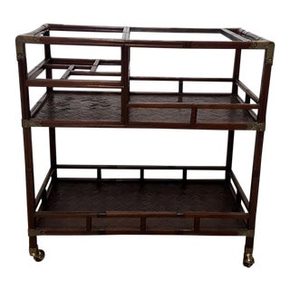 Asian-Style Bar Cart