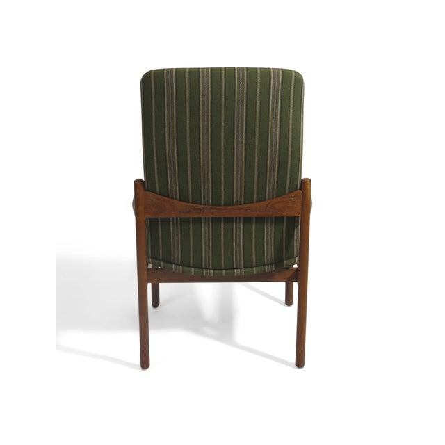 Mid-Century Danish Teak High-Back Lounge Chair - Image 6 of 9