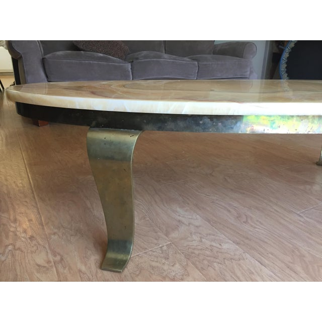 Alabaster Coffee Table - Image 5 of 6