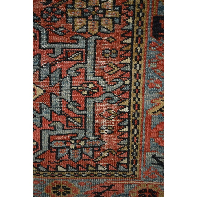 "Antique Persian Karaja Rug - 3'1"" x 4'3"" - Image 8 of 11"