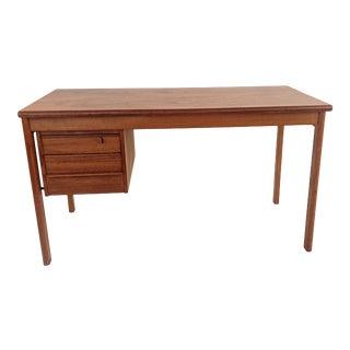 Danish Mid-Century Modern Peter Lovig Nielsen Teak Desk for Dansk For Sale