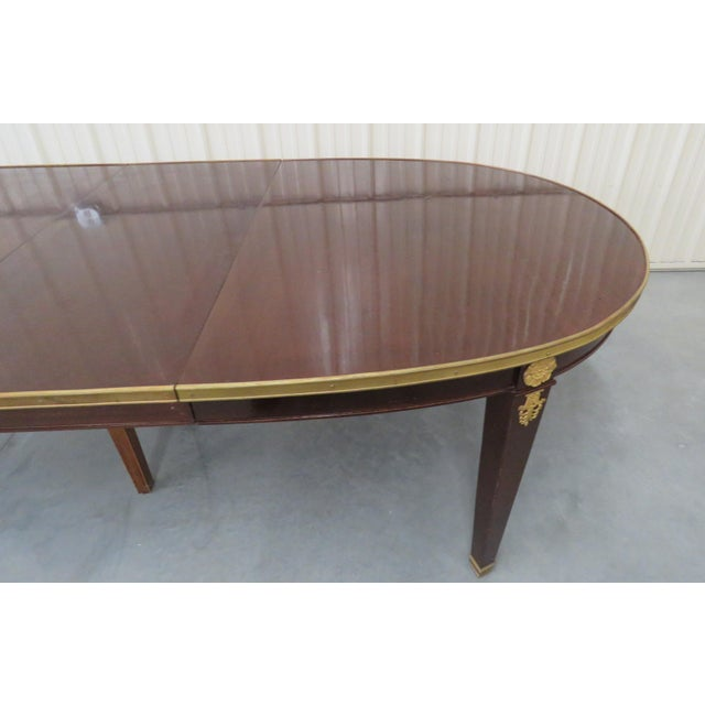 Early 20th Century Regency Style Dining Room Table For Sale - Image 5 of 8