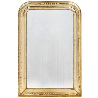 19th Century Antique French Gold Leaf Mirror For Sale