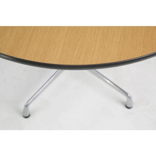 Herman Miller Charles & Ray Eames for Herman Miller Aluminum Group Dining Table, Circa 1970 For Sale - Image 4 of 7