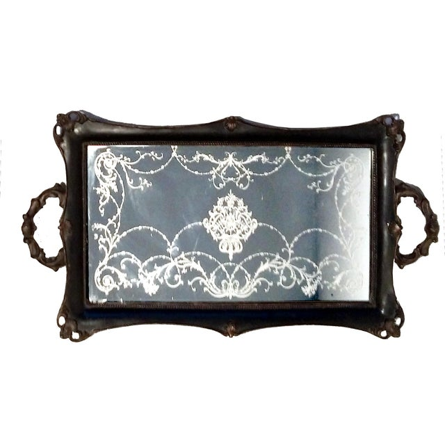 Victorian Mirrored Vanity Tray - Image 2 of 7