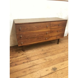 1960s Mid Century Modern 6 Drawer Dresser by Stanley Preview