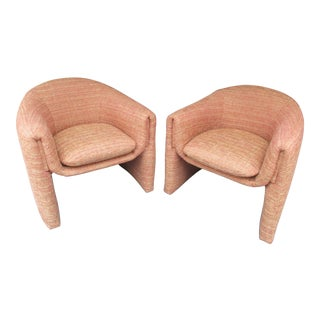 Vladimir Kagan Style Biomorphic Chairs -A Pair For Sale