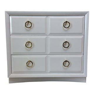 Robsjohn-Gibbings for Widdicomb White Dresser For Sale