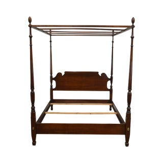Statton Old Towne Solid Cherry Queen Poster Bed For Sale