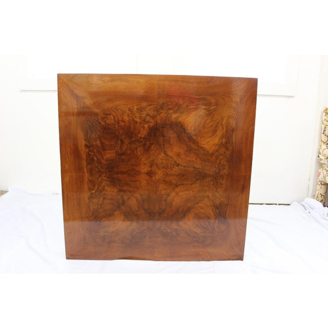 Mid Century Modern Milo Baughman coffee table For Sale In Boston - Image 6 of 7
