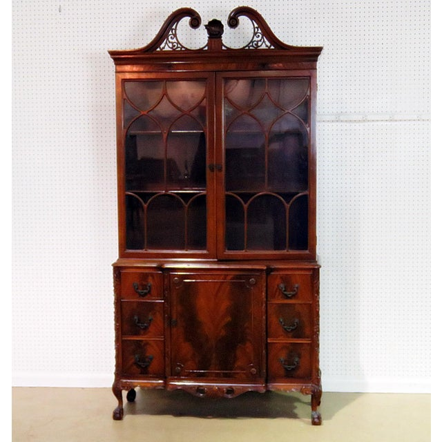 Georgian Style China Cabinet For Sale - Image 13 of 13