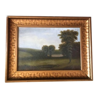 Final Markdown - Antique 19th Century English Landscape Painting For Sale