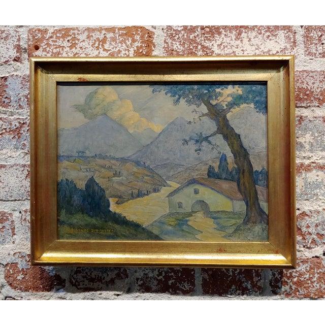 Valentin De Zubiaurre Jr -Spanish Basque Landscape -Oil Painting For Sale - Image 9 of 9