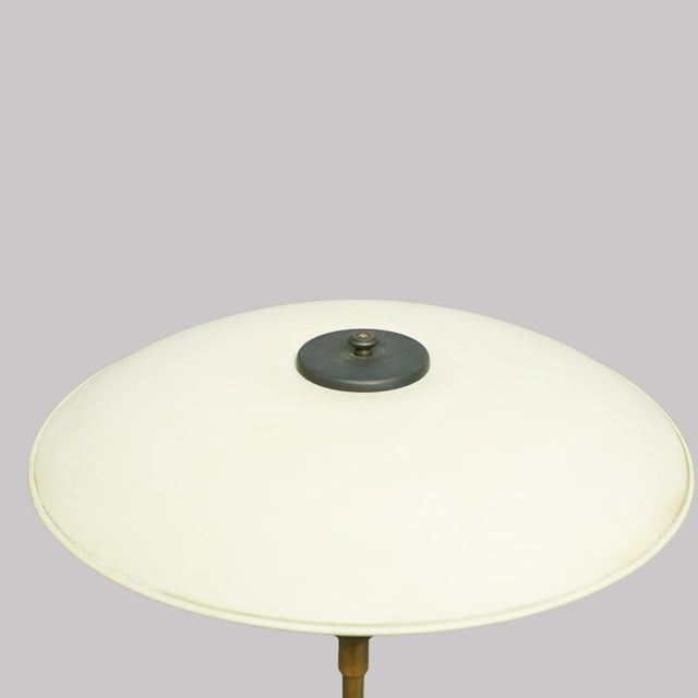 """Louis Poulsen Poul Henningsen PH4/3 Table Lamp, Stampled """"Pat. Appl"""" For Sale - Image 4 of 5"""