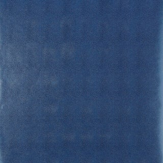 Sample - Schumacher Shagreen Wallpaper in Ultramarine For Sale