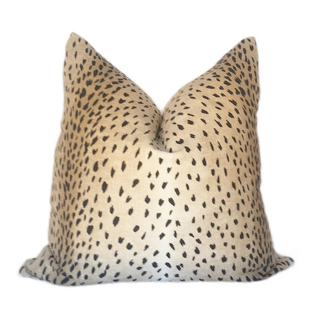 Update your decor with a custom made ombre antelope print pillow. This contemporary linen print is an updated classic and...