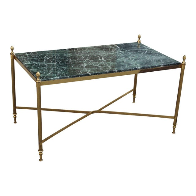 1940s Vintage French Maison Jansen Coffee Table For Sale - Image 13 of 13