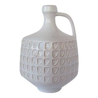 Vintage German Ceramic Bottle Vase For Sale