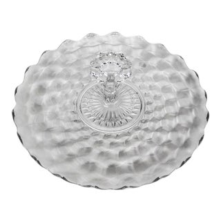 Fostoria Center Handle Tray - American Clear Pattern For Sale
