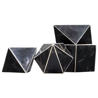 Rare 1930s Bauhaus Era Mineralogy Crystal Models For Sale
